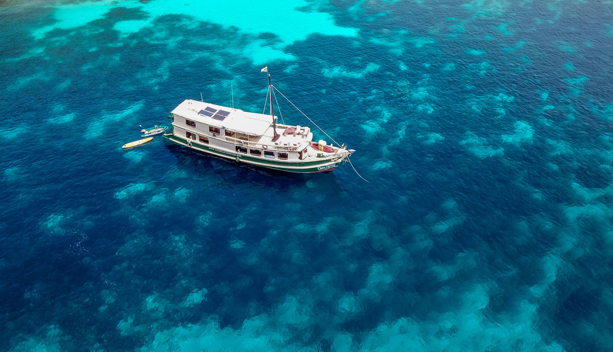 Boat Trip + Boulder Island Stay